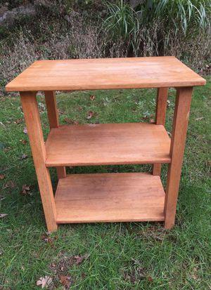 Super sturdy wooden shelf for Sale in Dartmouth, MA