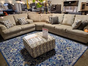 Sectional Sofa, Beige for Sale in Santa Ana, CA