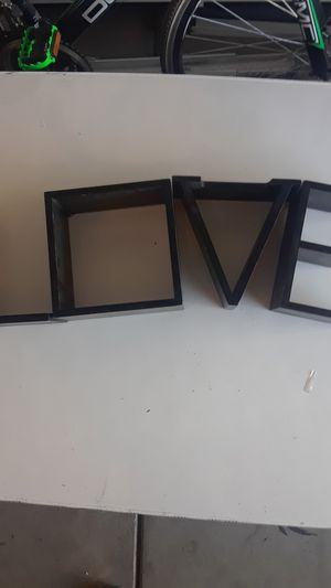 Love wall hanging shelves see photos for Sale in Modesto, CA