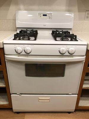 Whirlpool Gas Range / Oven + free Hood for Sale in Santa Ana, CA
