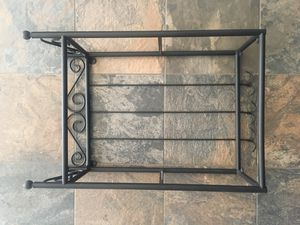 IKEA Iron and Glass Hanging Shelf for Sale in San Francisco, CA