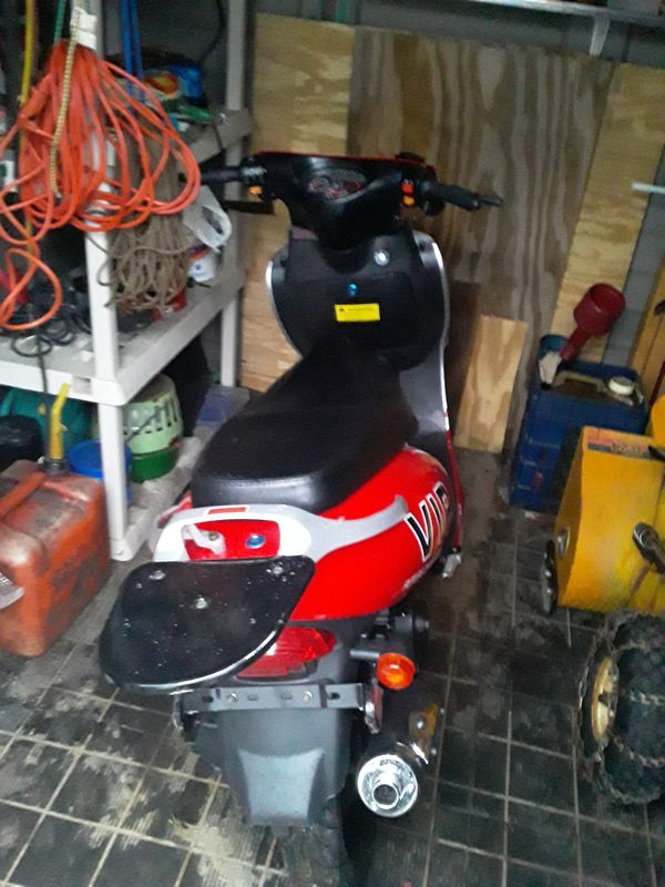 Looking to sell 2020 TaoTao scooter what's 178 miles on it naughty parts tires trunk speedometer cable extra parts asking $900 best offer