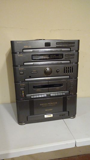 Sharp SC-7800AV AM FM Stereo Cassette Cd System for Sale in Stickney, IL