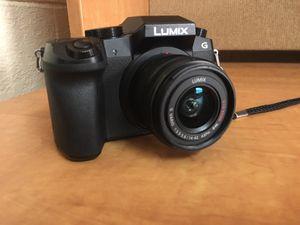 PANASONIC Lumix G7 4K Digital Camera, with Lumix G VARIO 14-42mm Mega O.I.S. Lens for Sale in Lakeland, FL