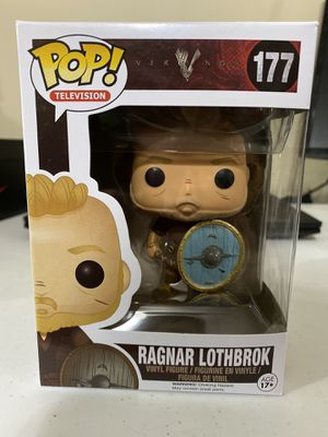 Funko pop Ragnar Lothbrok #77 with protector for Sale in Lincoln, NE