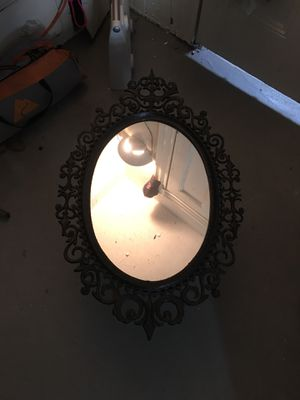 Antique mirror. It's metal for Sale in Boston, MA