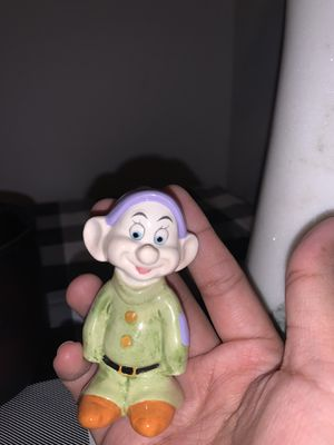 Disney Dopey Porcelain figurine for Sale in Garland, TX