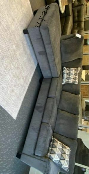 ☑ Special for Black Friday ‼ SPECIAL] Dalhart Charcoal RAF Sectional SAME DAY DELIVERY for Sale in Jessup, MD