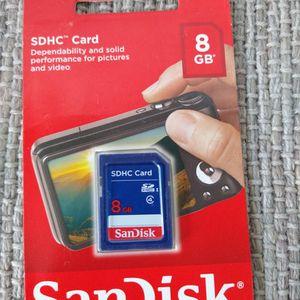 SanDisk 8GB SDHC Memory Card for Sale in Rialto, CA