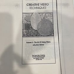 Creative Video Techniques for Sale in Carlsbad,  CA