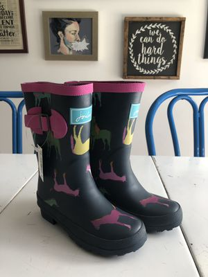Joules Horse Rain Boots for Sale in Woodway, WA