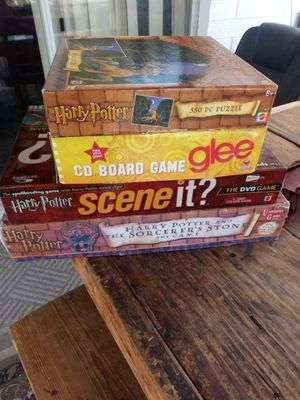 PUZZLES BOARD GAMES ASKING FOR THE SET $30 MUST PICK UP GAMES ARENT CHEAP for Sale in Phoenix, AZ