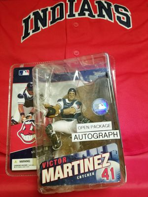 Victor Martinez Catcher #41 Action Figure Autograph McFarlane Baseball Series 16 for Sale in Avondale, AZ