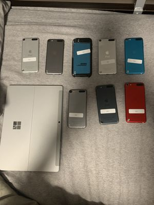 Broken/locked iPod and Microsoft surface lot for Sale in Berlin, CT
