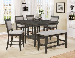 Brand new gray pub high dining set for Sale in San Diego, CA