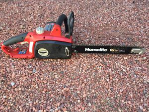 Electric 16in Chain Saw. for Sale in Phoenix, AZ