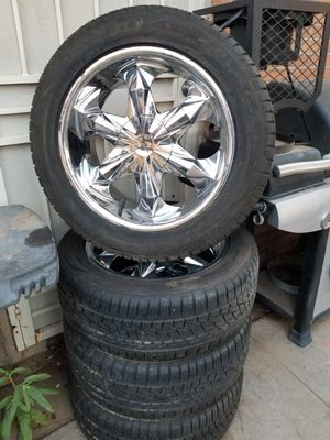 Brand New Falken Tires 235/55A. Size 18 and Rims for Sale in El Paso, TX