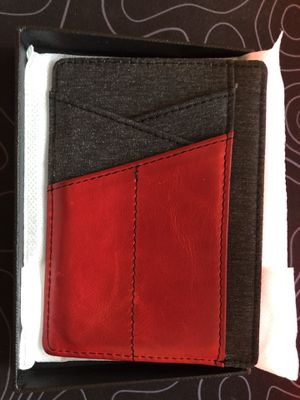 Red Leather Wallet - Never Used for Sale in Columbia, SC
