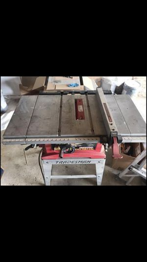 Tradesman Table Saw for Sale in Blacklick, OH