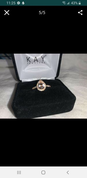 LeVian Morganite Ring size 7 for Sale in Pueblo, CO