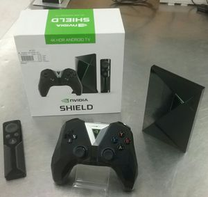 NVIDIA SHIELD TV 4K HDR Streaming Device w/ remote & Game Controller for Sale in Greenville, SC
