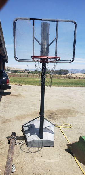 Portable Basketball Hoop for Sale in Sanger, CA