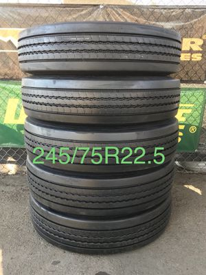 Truck Tires 245/75R22.5 for Sale in Lakeside, CA