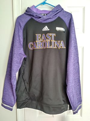 New! L Adidas East Carolina Pirates HOODIE for Sale in Boyds, MD
