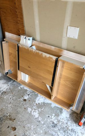 Wood desk for Sale in Issaquah, WA