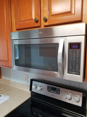 STAINLESS STEEL WHIRLPOOL MICROWAVE for Sale in St. Augustine, FL