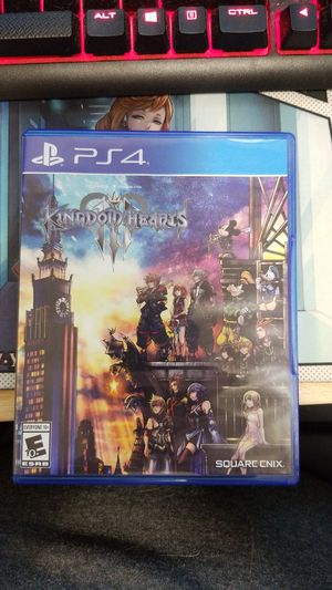 PS4 Kingdom Hearts 3 for Sale in Humble, TX