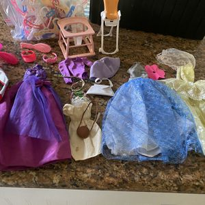 Vintage Barbie Clothes And Accessories for Sale in Chula Vista, CA