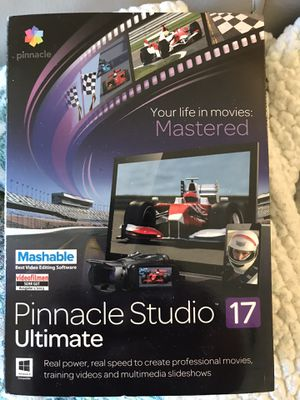 Pinnacle Studio 17 Ultimate Movie Software for Sale in Colleyville, TX