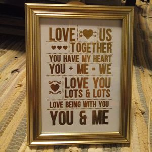 5×7 piture with qoutes. for Sale in Sarasota, FL