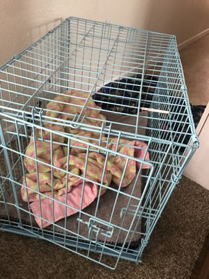 Small dog cage perfect for small labs for Sale in Mantorville, MN