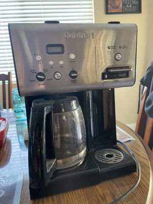 Cuisinart coffee maker with hot water dispenser for Sale in Riverside, CA