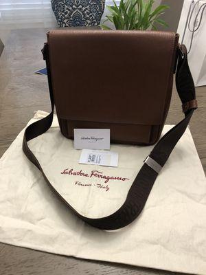 Salvatore Ferragamo bag/messenger bag.. for Sale in Tampa, FL