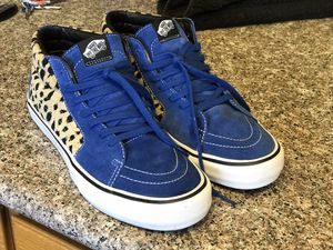 "SUPREME NEW YORK x VANS SK8-MID PRO ""SUPREME CHEETAH VELVET"" - 10.5 for Sale in Springfield, OR"