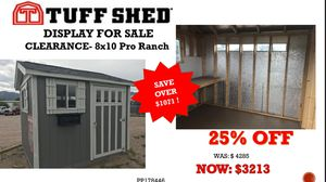 Tuff Shed for Sale in Colorado Springs, CO