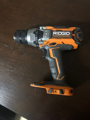 RIDGID 18v hammer drill, Tool only 75.00 for Sale in Santa Ana, CA