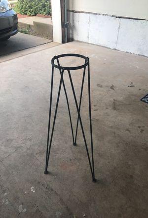 Plant holder black iron for Sale in Woodbridge, VA