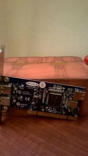 Belkin Hi-Speed USB 2.0 3-Port PCI USB for Sale in Seattle, WA