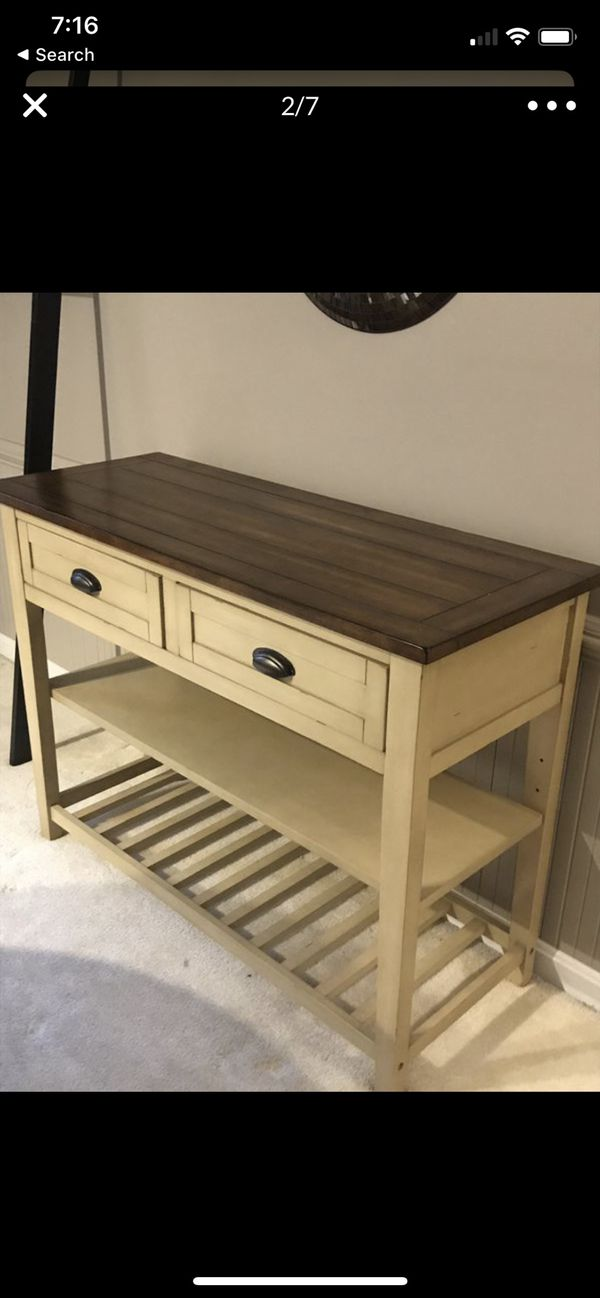 Pier 1 Carmichael Buffet Table and matching bench
