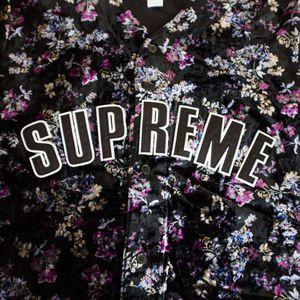 Supreme Floral Baseball Jersey Black MEDIUM DS for Sale in Shoreline, WA
