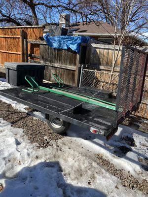 Trailer hold 3 dirt bikes or one big Harley for Sale in Denver, CO