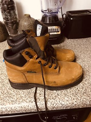 Steel toe work boots 10.5 for Sale in Bowie, MD