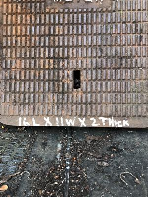 Pavers solid cast iron 200 ea plus 25 lbs ea for Sale in Portland, OR