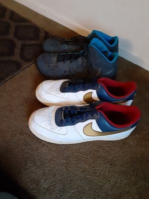 Nike shoes size 15 ,take both for 35.00 for Sale in San Diego, CA