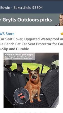 Dog car seat cover for Sale in Bakersfield,  CA