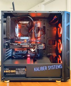 Custom Gaming Computer with Intel i7 8700K, 1070 GTX Ti, 256GB NvME/1TB HDD for Sale in Lake Worth,  FL